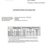 Analyses métaux lourd La spiruline de Julie 2020
