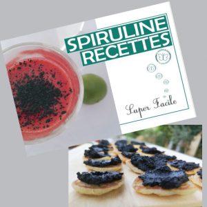 Livre recettes la spiruline de Julie BON et facile