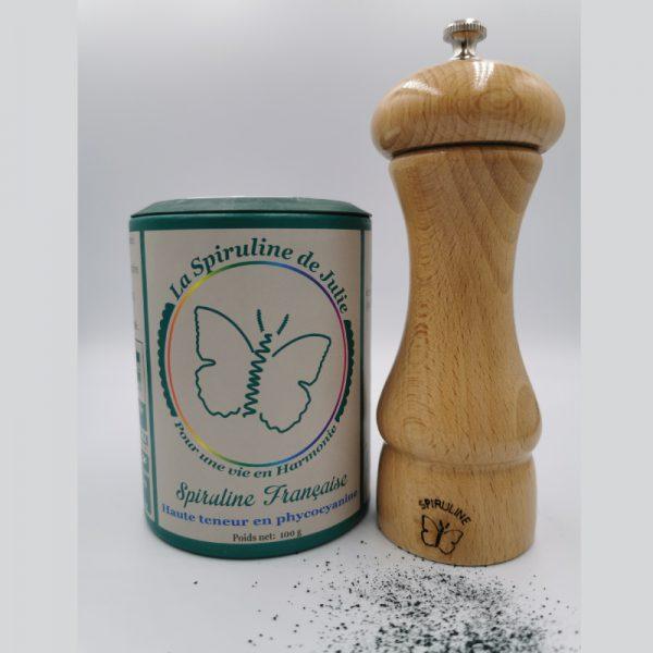 coffret cadeau découverte La Spiruline de Julie MOULIN +Spiruline brindille