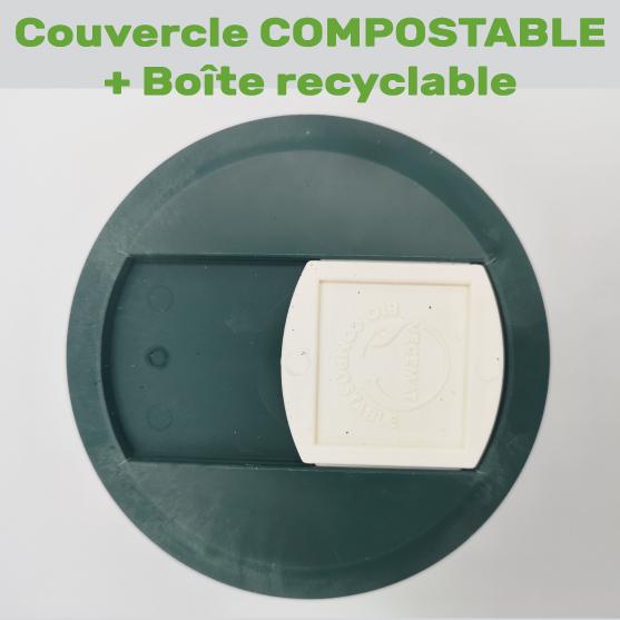 couvercle compostable spiruline brindille La spiruline de Julie